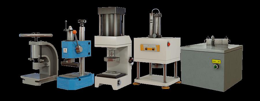 Машины для изготовления образцов