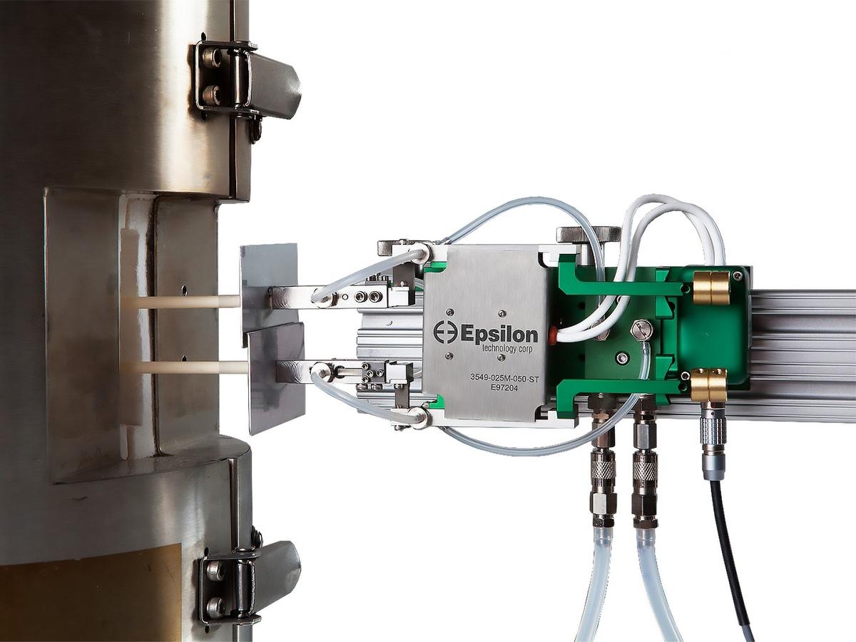Экстензометр высокотемпературный встраиваемый 3549 (1200˚С/1600˚С)