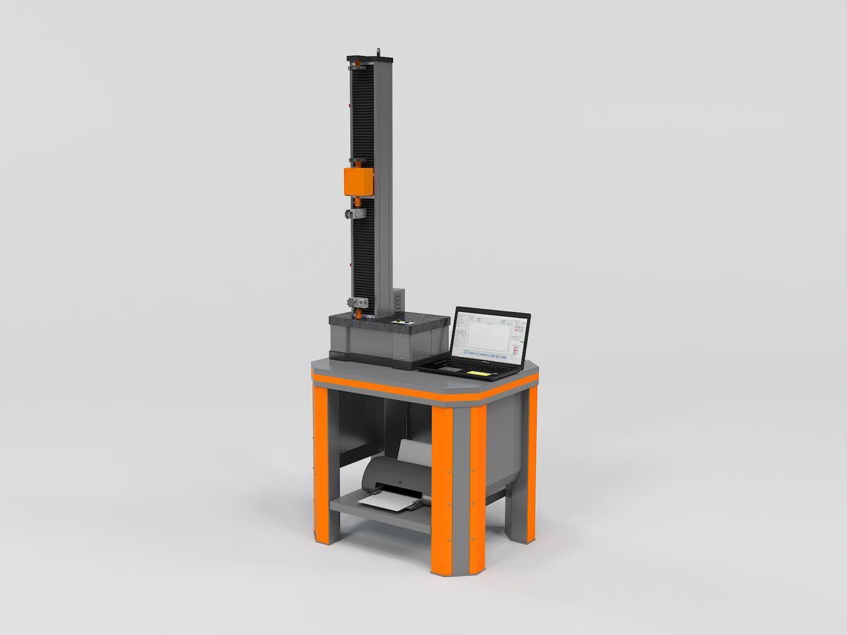 Электромеханическая разрывная машина РЭМ-А (одноколонная)