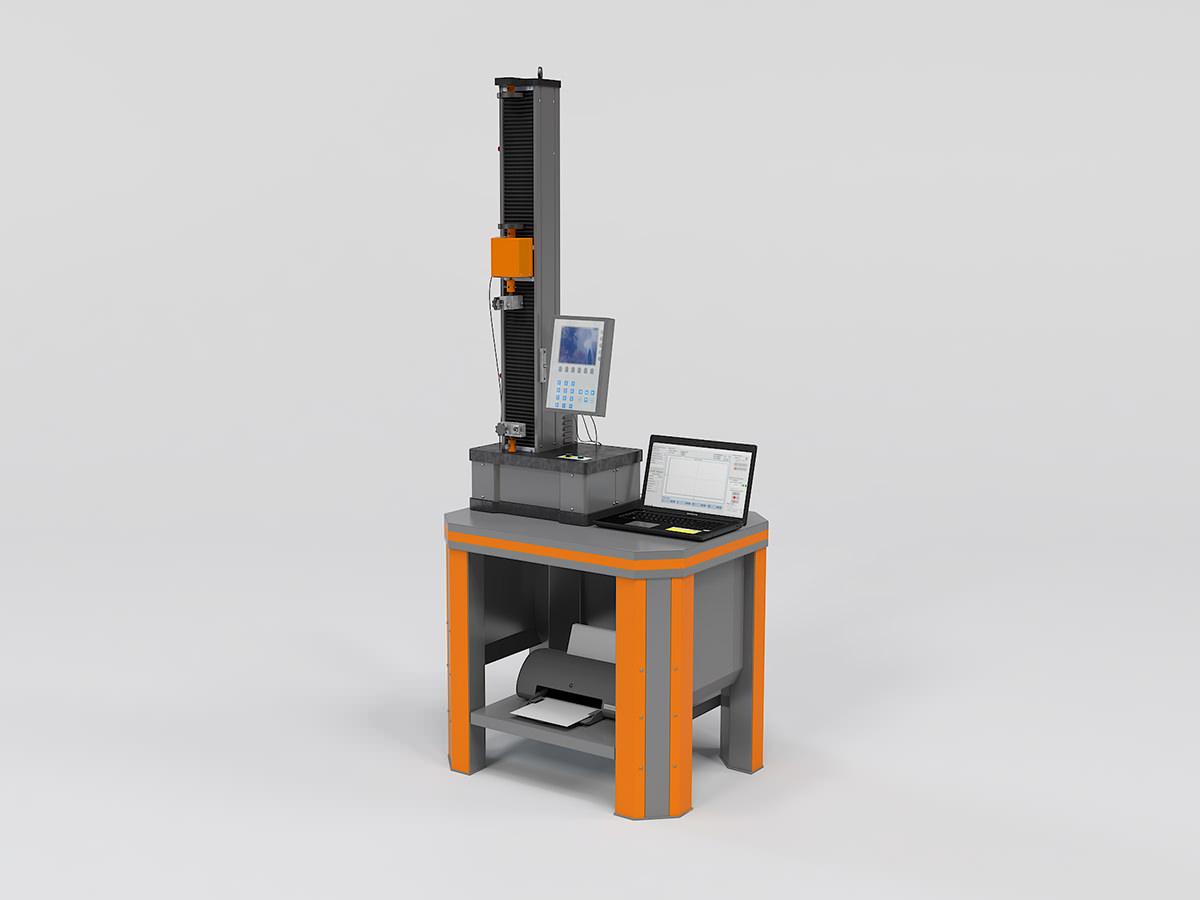 Электромеханическая разрывная машина РЭМ-М (одноколонная)