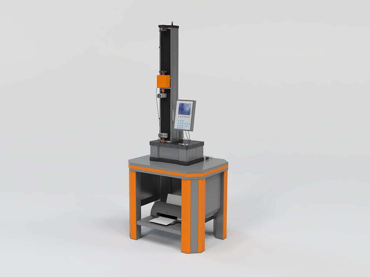 Электромеханическая разрывная машина РЭМ (одноколонная)