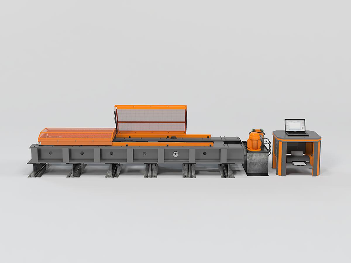 Горизонтальная разрывная машина РГМ-Г-А